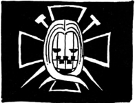 Hawkins Pirates' Jolly Roger