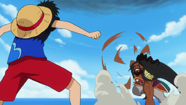 Luffy contre Shuzo