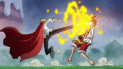 Luffy vs Sanji Whole Cake