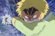 Sind beats Luffy