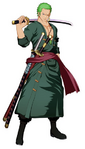 Zoro Unlimited World Red Post Skip