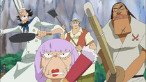 Fabre and other inhabitants of the island becomes to protect the bosses and the island