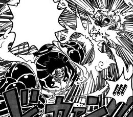 Gomu Gomu no Kong Gun на Катакури