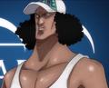 Kuzan de joven en el anime