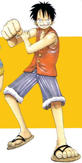 Monkey D. Luffy Manga Debut Infobox