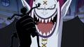 Ombre de Luffy récupérée par Moria