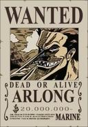 Arlong's Wanted Poster