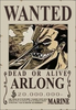 Arlong's Wanted Poster
