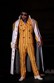 Borsalino in One Piece Premier Show 2012