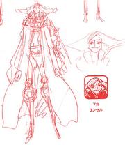 Charlotte Angel Manga Concept Art