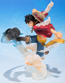 Figuarts Zero Monkey D. Luffy Gomu Gomu no Hawk Whip