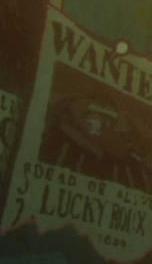 Lucky Roux Avis de Recherche