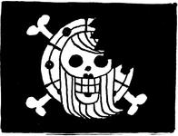 Bonney Pirates' Jolly Roger SBS