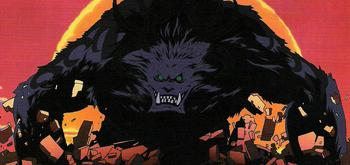 El reino de Chopper en la isla de los extraños monstruos/Enfrentamientos