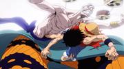 Luffy Menendang Enel