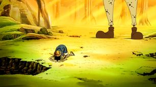 Luffy desolado