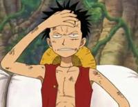 Luffy imite Zoro