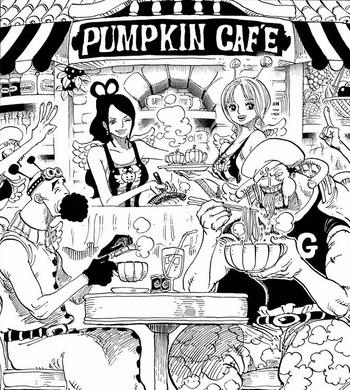 Кафе «Пампкин»