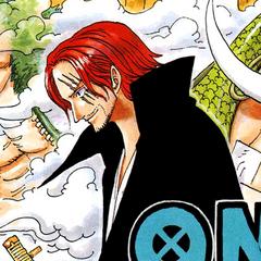 Shanks nel manga