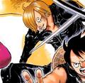 Tercera vestimenta de Sanji en Film Gold manga