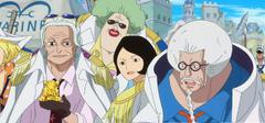 Tsuru y Sengoku conocen a Mansherry