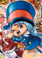 Wicca's Manga Color Scheme