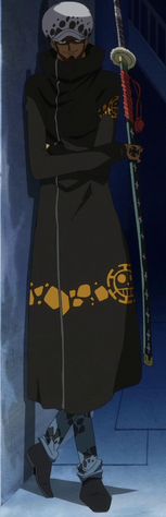 Trafalgar Law Timeskip Anime