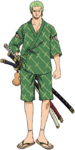 Zoro Other Stampede Outfit