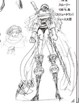 Charlotte Smoothie Manga Concept Art