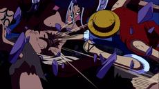 Luffy vs Saga 2