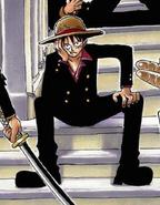 Rozdział 45 Luffy w garniturze