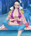 Smoker avec le corps de Tashigi (Anime)