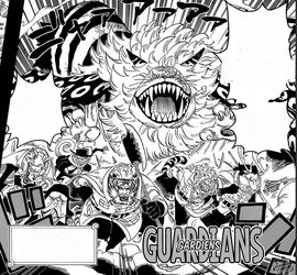 Gardiens de Zou Manga Infobox