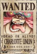 Cartel de recompensa de Charlotte Linlin