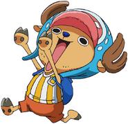 Chopper Anime Concept Art