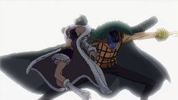 Crocodile Slashes Robin