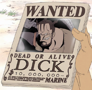 Dick's Wanted Poster
