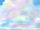 Nebbia color arcobaleno
