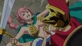 Rebecca neutralisée par Luffy