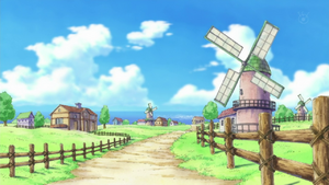 Village de Fushsia Anime Infobox