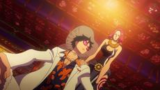 Baccarat retira la suerte de Luffy