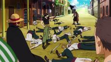 Beckman derrota a los bandidos de Higuma