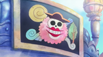 Big Mom Pirates' Jolly Roger on Fishman Island Candy Factory