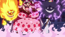 Big Mom se enfrenta a Brook