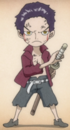 Dracule Mihawk as a Child