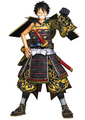 Pirate Warrior Luffy Samurai