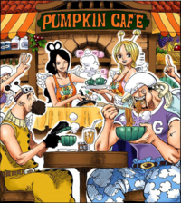 Pumpkin Cafe Colored