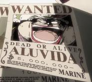Alvida Wrong Bounty Name