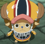 Chopper's First Zou Outfit
