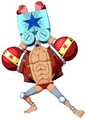 Franky Unlimited World Red Post Skip